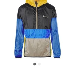 Cotopaxi half zip teca windbreaker golden hour